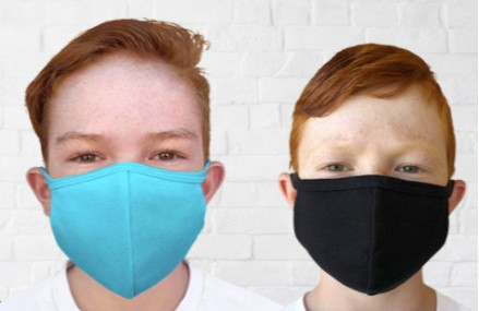 Made in USA masks for kids: City Threads cotton masks are available in 6 sizes (including a size that fits toddlers) and over 10 colors.