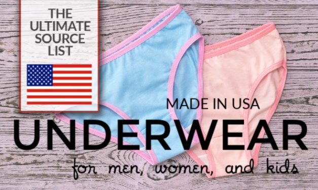 Made in USA Underwear: The Ultimate Source List