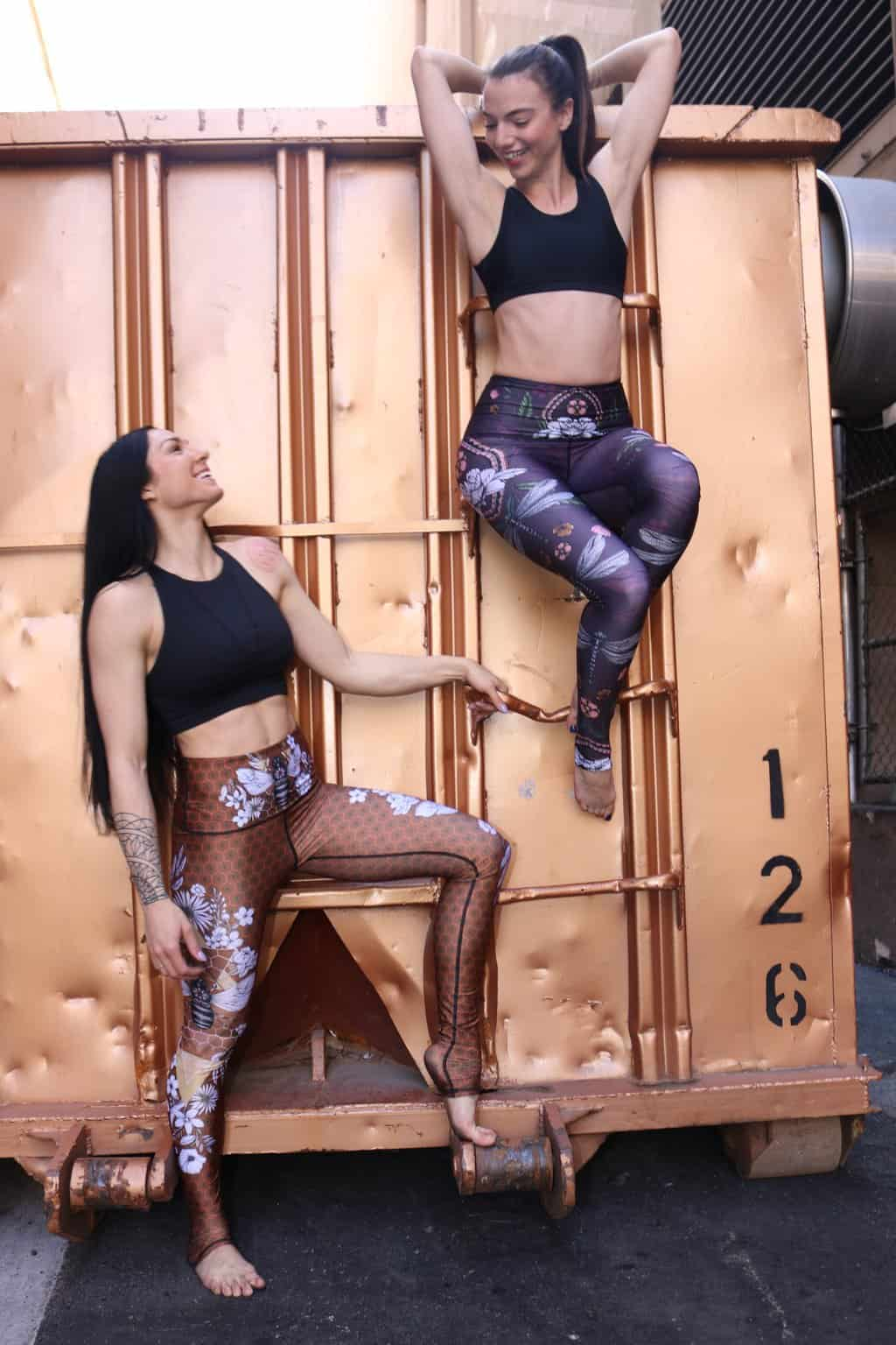 American Made Leggings: Yoga Democracy Eco-friendly leggings. Use promo code USALOVE for 25% off your purchase