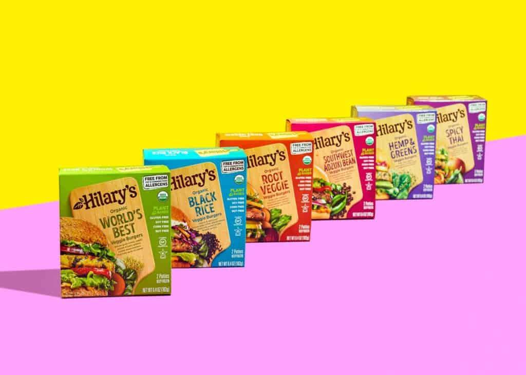 Hilary's Organic Vegan Veggie Burgers - Top 12 Free. Vegan. Plant-Based. Soy-Free.
