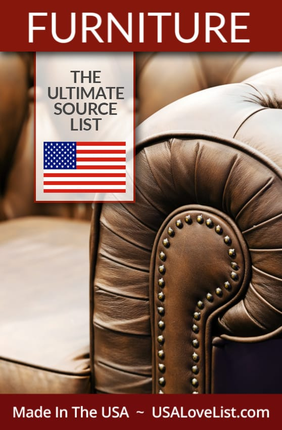 Made in USA Furniture the Ultimate Source List