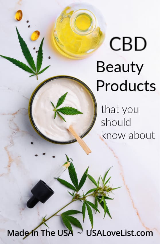 CBD beauty products you should know about- all American made