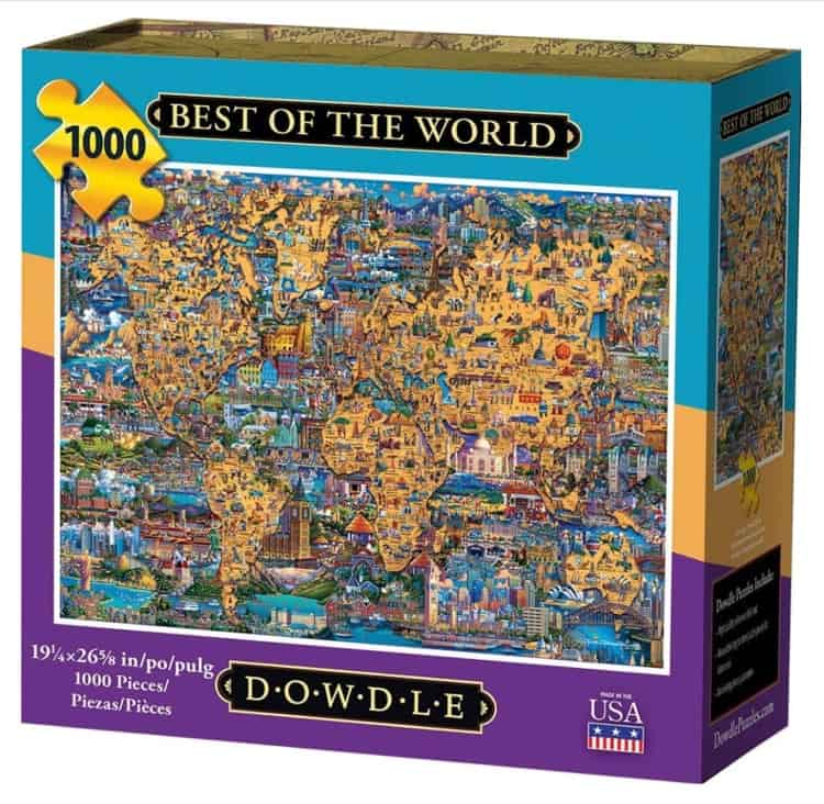 Jigsaw Puzzles by Dowdle Folk Art are Made in the USA - USAlovelist.com