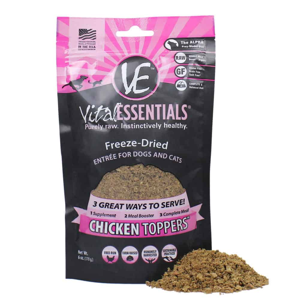 Vital Essential Grain-Free, Protein & Fat Enriched Cat Food - Made in USA