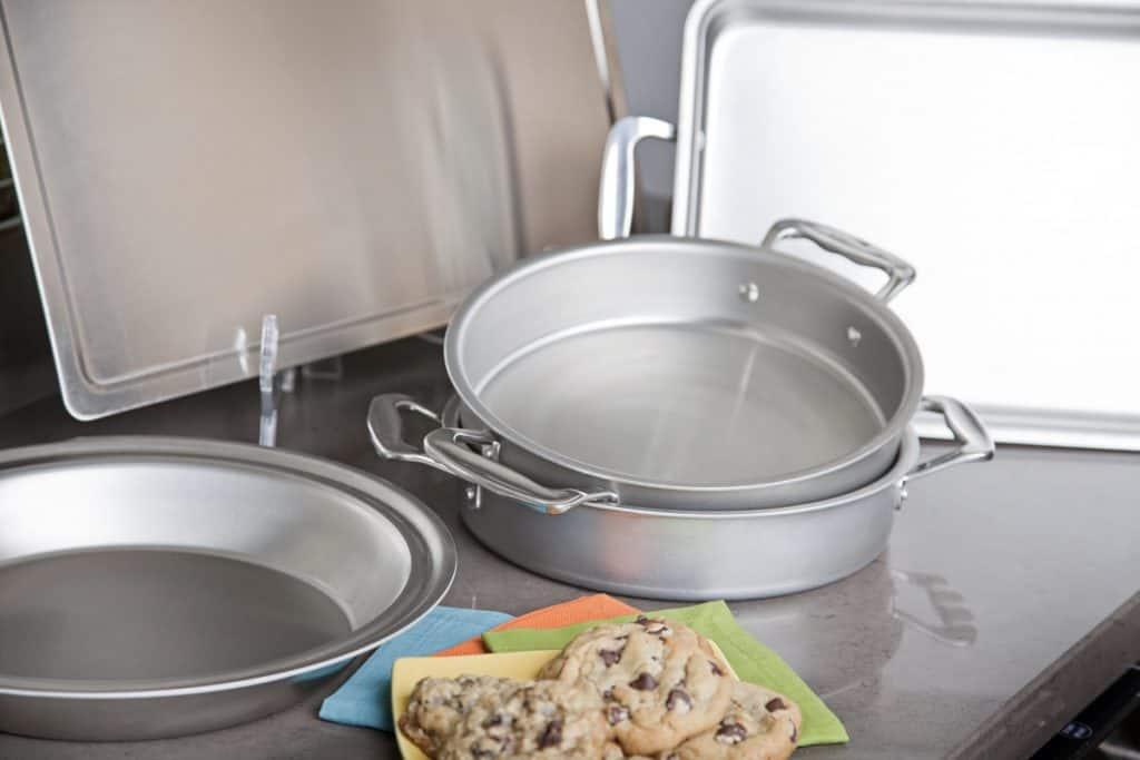 American made baking pans and baking dishes: 360 Bakeware Take 20% off 360 Cookware & Bakeware with discount code USALOVE. No Expiration.
