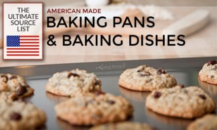 Made in USA Baking Pans & Baking Dishes: A Source List