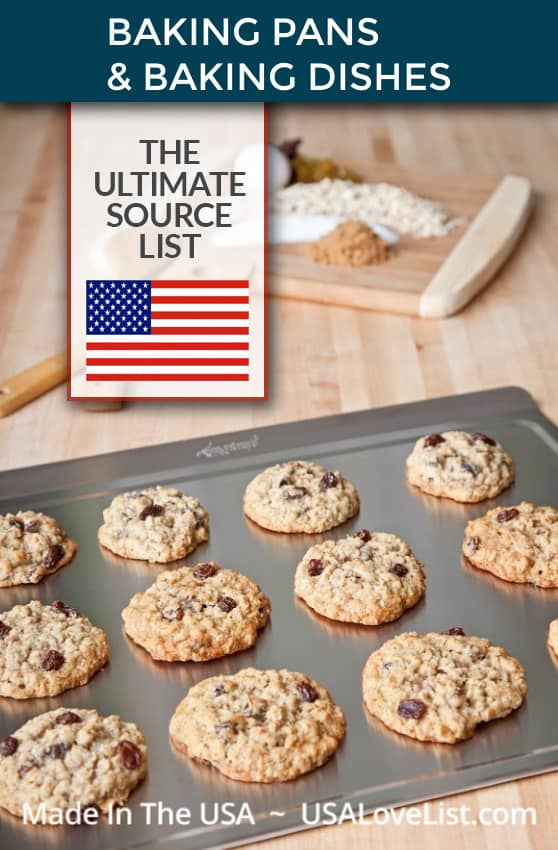 Made in USA Baking Pans and Baking Dishes: A Bakeware Source List