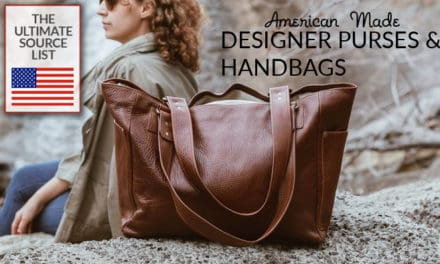 American Made Designer Purses and Handbags: The Ultimate Source List