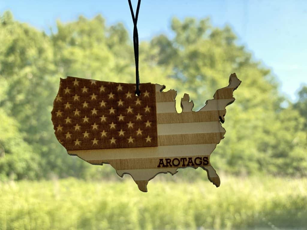 Auto Accessories made in USA: Arotags Rescentable Car Air Fresheners.