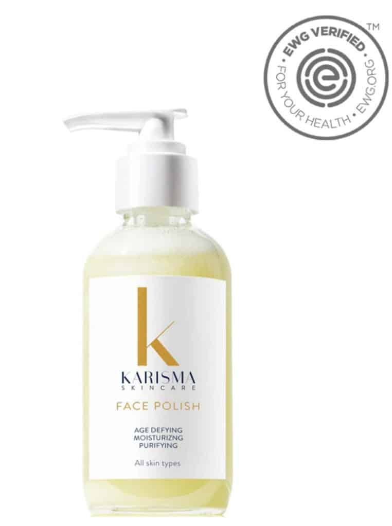 Organic, Vegan and Non-Toxic Karisma Face Polish - Made in USA - EWG Verified Face Wash