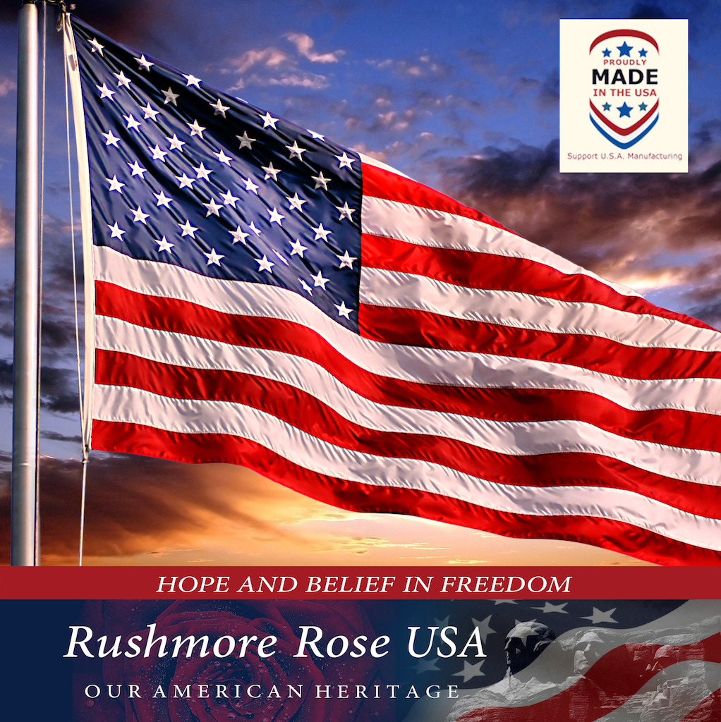 Made in USA American Flags by Rushmore Rose USA