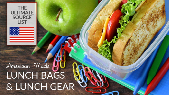 Made in USA Lunch Bags and Lunch Gear