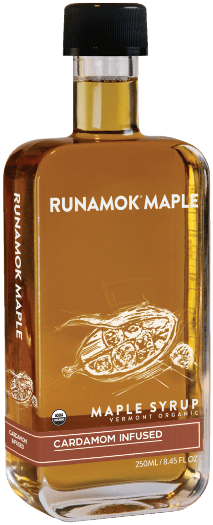 Runamok Maple Cardamom Maple Syrup - Made in USA - Made in Vermont