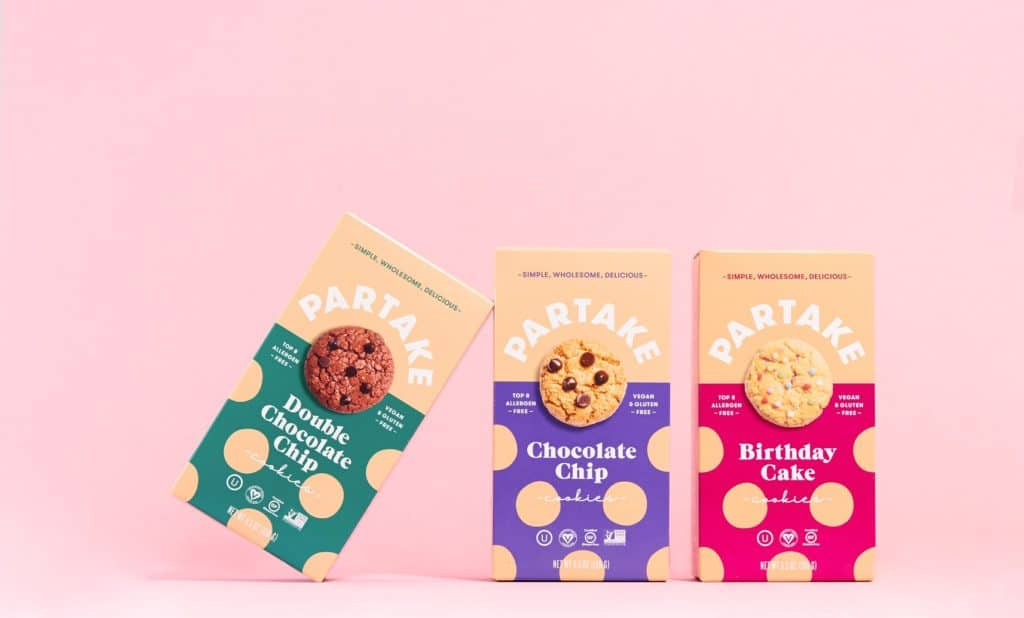 Gluten-Free Vegan Cookies from Partake - Made in USA - Black Owned Business
