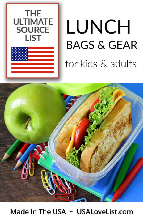 Lunch bags and Lunch gear all made in the USA