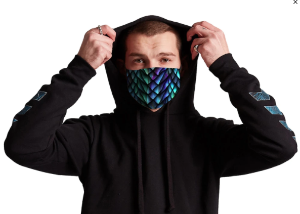 iEDM Rave Face Masks: Take 15% off with code USALOVE. No expiration.