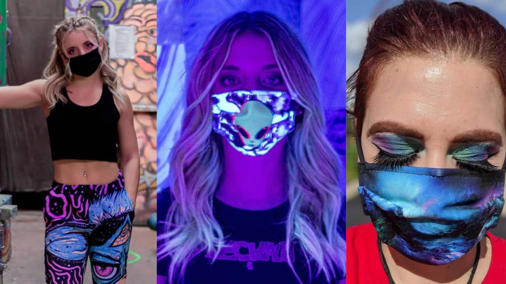 American made masks: iEDM independent artist designed face masks, rave face masks, cotton face masks. You can save 15% on your iEDM purchase now with promo code USALOVE. No expiration.