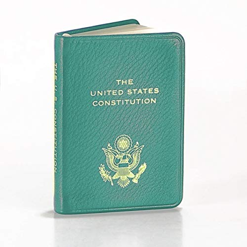A pocket size copy of The United States Constitution