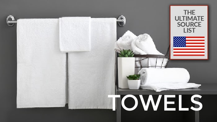 Made in USA Towels: The Ultimate Source List