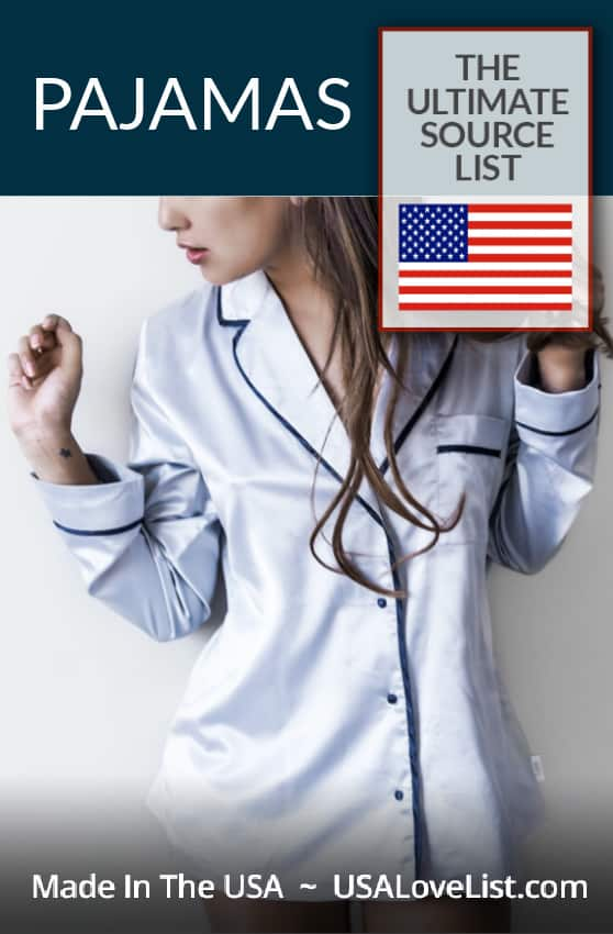 Made in USA perfect pajamas for women, men and kids #usalovelisted #madeinUSA