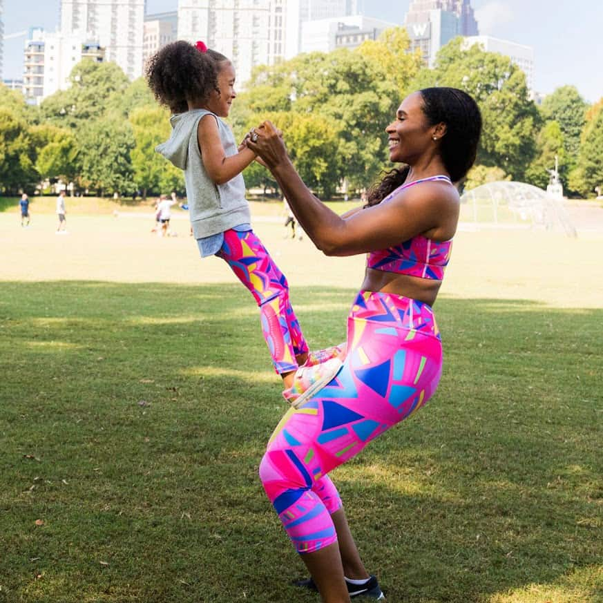 Rochelle Porter Made in USA Activewear - Mother and Daughter Matching Sets
