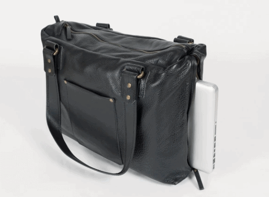 Made in USA Travel Bags: Take 15% off the Kámen Road Leather Lap Top Bag with discount code USALOVE. No expiration.