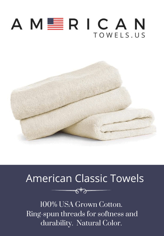 Made in USA Towels: American Towels Use promo code USALOVE for 20% off your entire towel purchase. No expiration date.