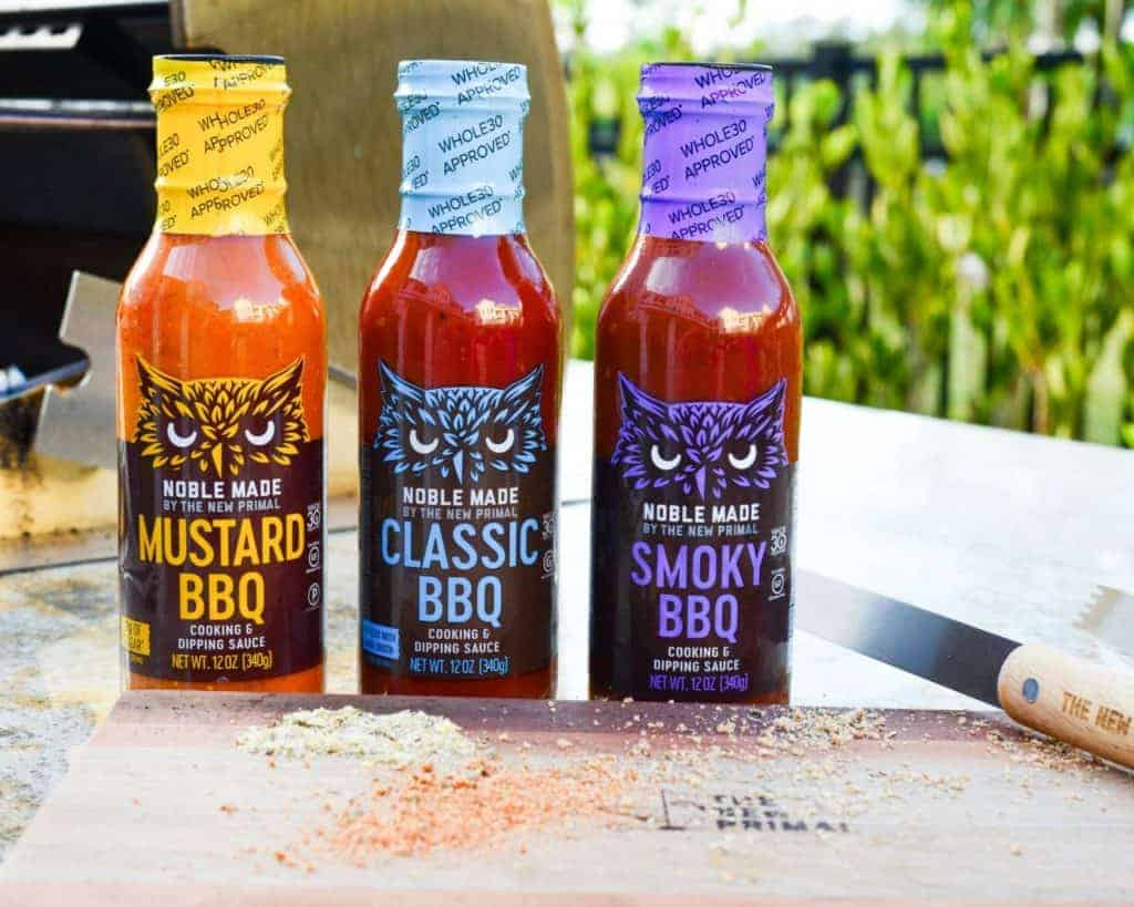Whole30 approved foods: Noble Made by New Primal - Whole30 Approved Buffalo Sauces