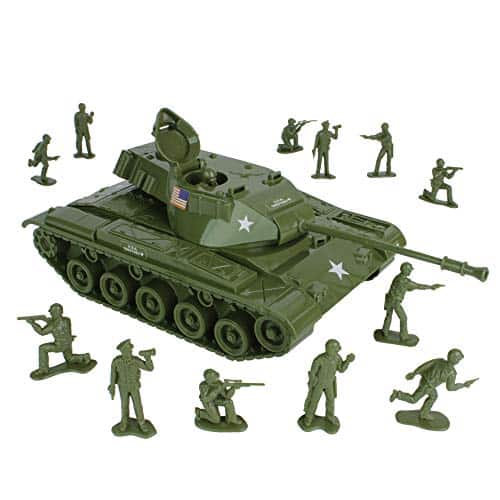 Tim Mee Toy Tank and Army Men Set