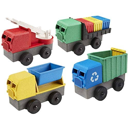 Luke's Toy Factory Eco-Truck STEM Building Set