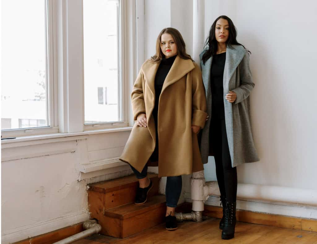 Made in USA Women's Outerwear Coat Check coats for women of all sizes