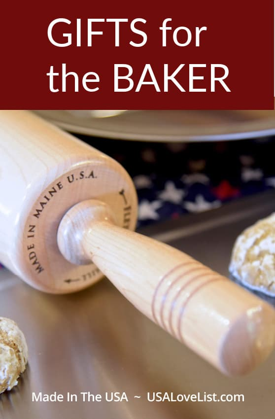 Gifts for the Baker Made in USA featuring Liberty Tabletop #usalovelisted #baking #baker #madeinUSA