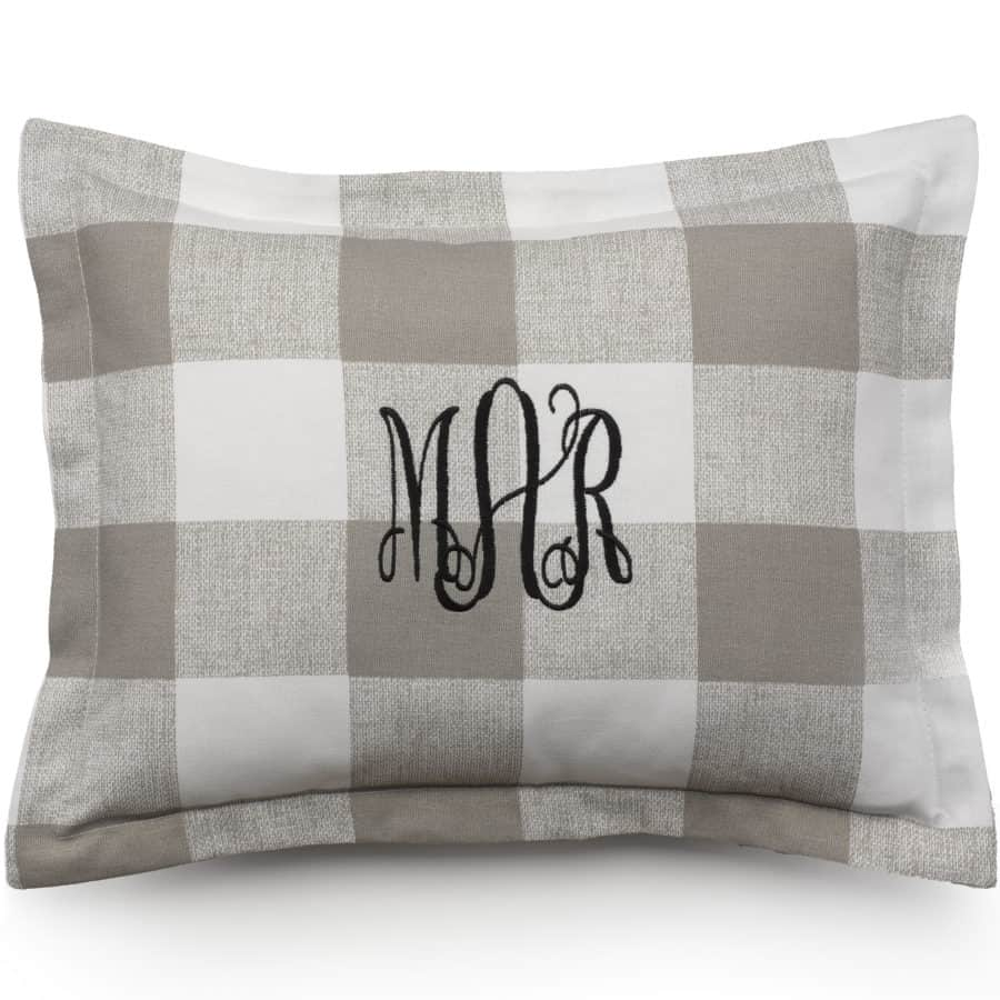 Made in USA Pillows: Liz & Roo baby accent pillow shams are hands sewn. 15% off Liz and Roo with discount code USALOVE. No expiration. One use per customer.  #usalovelisted #madeinUSA #pillows