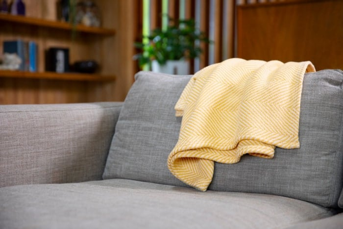 American Made Blankets: Authenticity50  Heritage Blankets are woven in Maine.