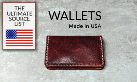 Made In USA Wallets: A Source List