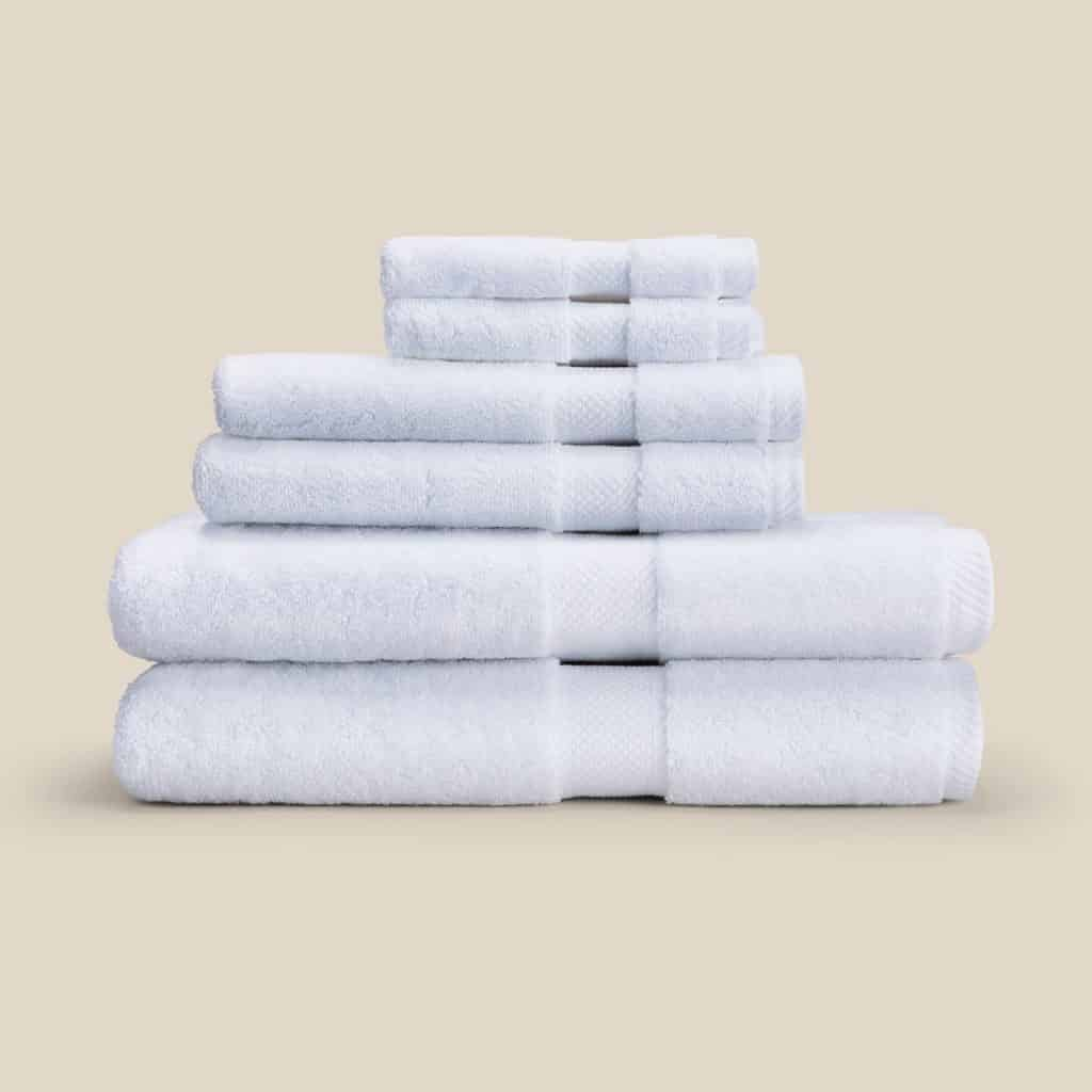 Made in USA Bathroom Essentials: Save 12% on Authenticity50 Essential Cotten Towels when you purchase the bundle.