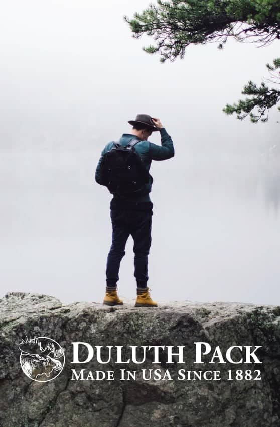 Useful gifts: Duluth Pack made in USA canvas and leather bags. Take 20% off you Duluth Pack order with code USALOVE. Offer valid through December 31, 2020. *Cannot be combined with other discounts, offers, or promotions.
