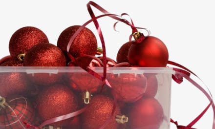 American Made Christmas Decoration Storage Containers & Tips On How To Use Them