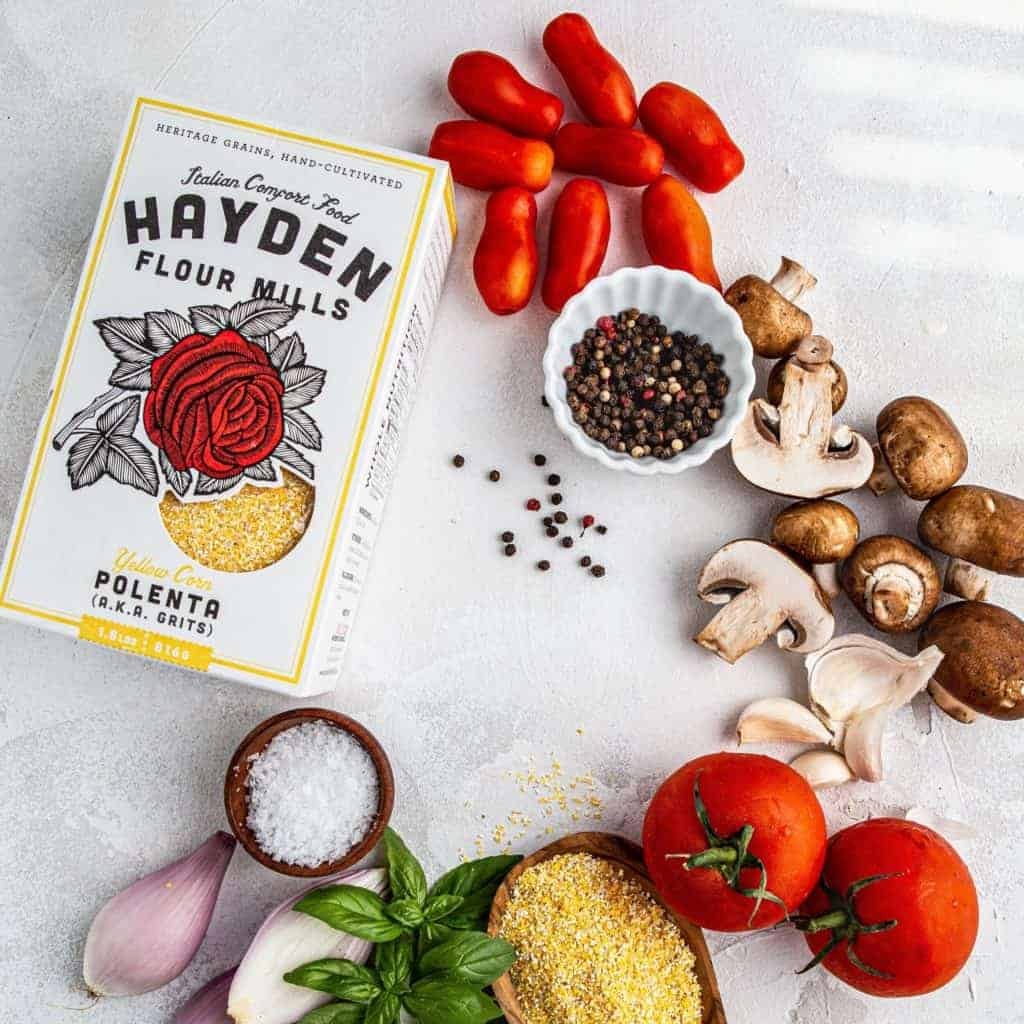 Hayden Flour Mills Yellow Corn Polenta - Made in USA - Foodie Gift Guide