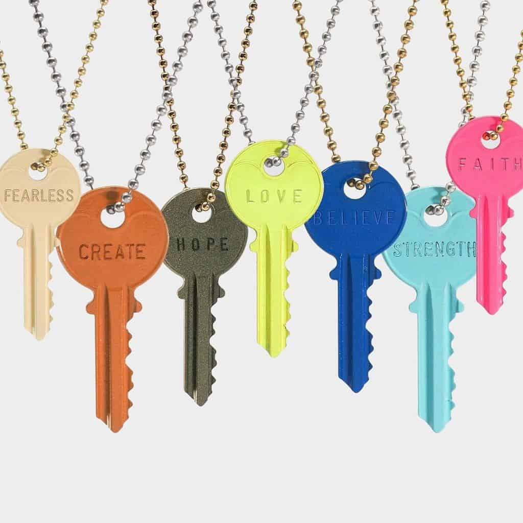 The Giving Keys Necklaces - Made in USA Jewelry