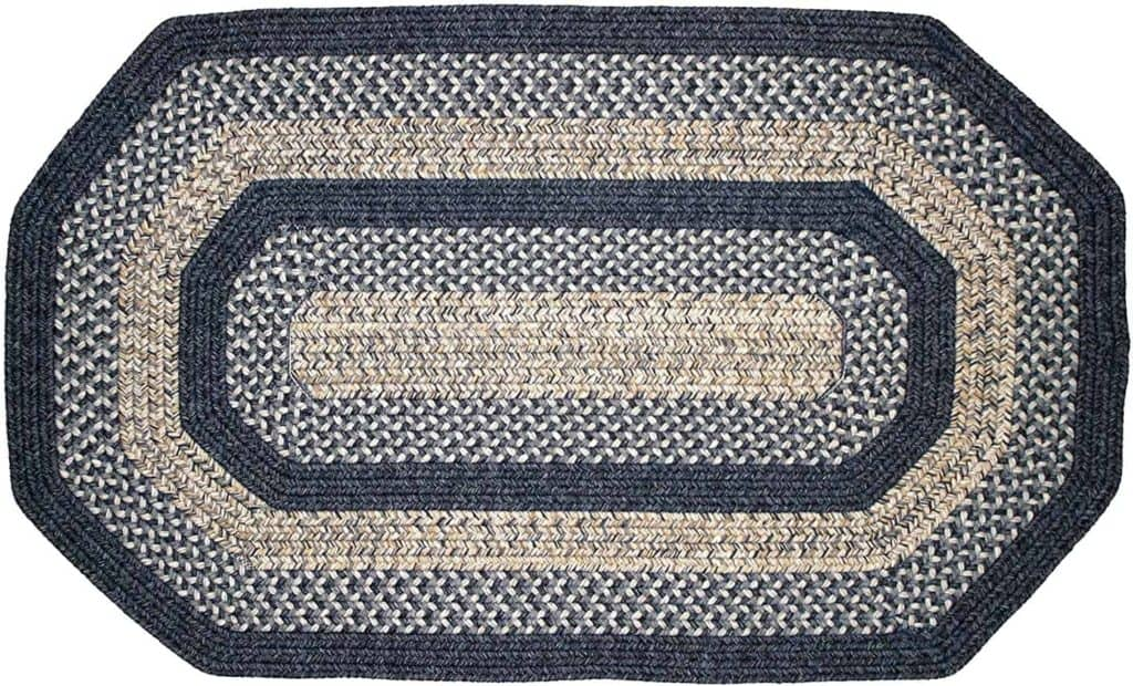 Made in USA area rugs, decor rugs, carpeting: Thorndike Mills braided rugs #usalovelisted #madeinUSA #decor