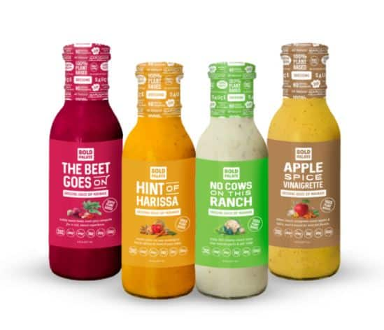 Useful Gifts: Bold Palate dressings, dips and sauces are plant based. The variety pack is a great gift for the foodie.