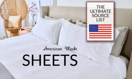 American Made Sheets: The Ultimate Source List
