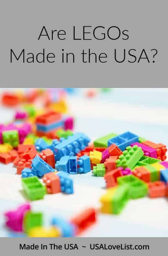 Are LEGOs made in the USA? Find American Made alternatives. USAlovelist.com
