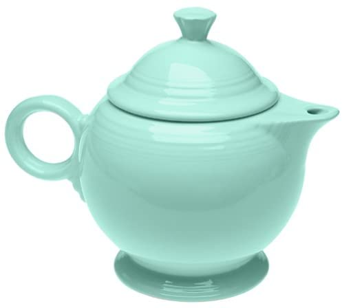 Any tea kettles made in the USA? No, but we found this made in USA teapot from Fiesta.