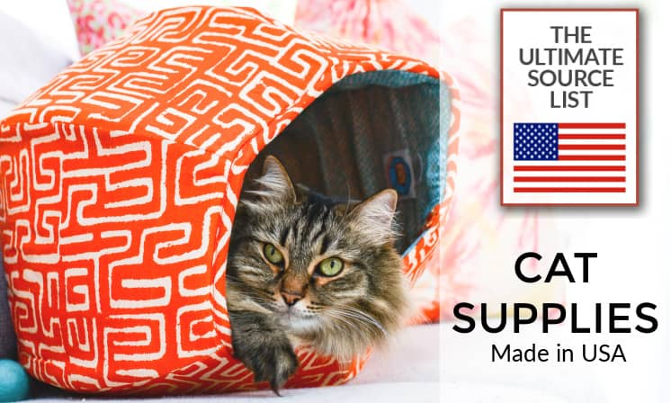 Made in USA Cat Supplies: The Ultimate Source List