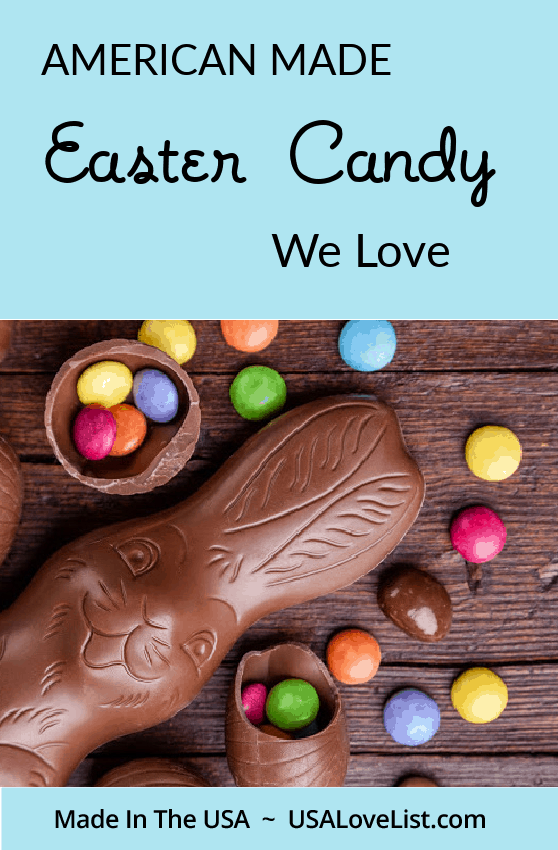 American Made Easter Candy We Love via USA Love List #easter #candy #madeinUSA