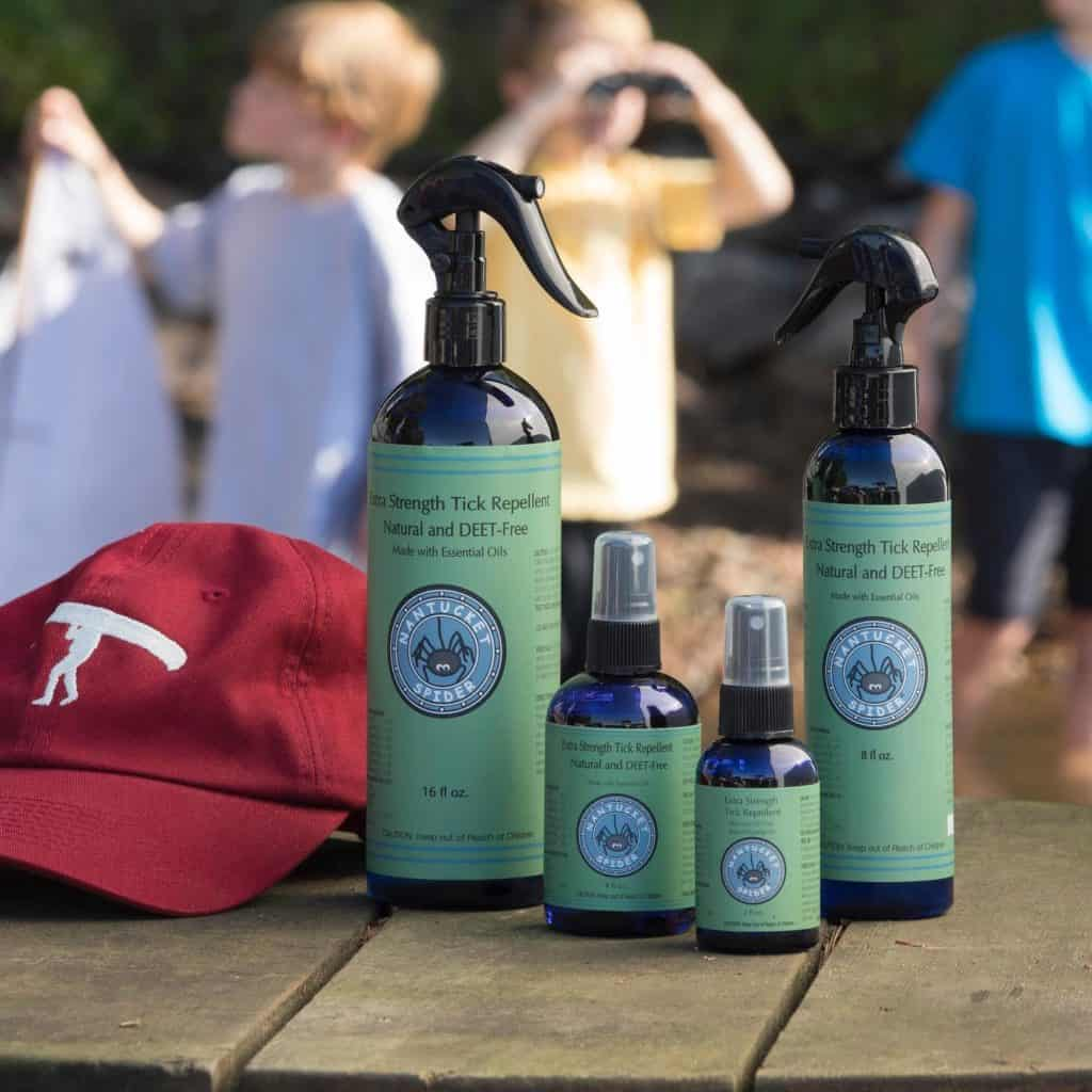 American Made Non-Toxic Tick Repellent from Nantucket Spider