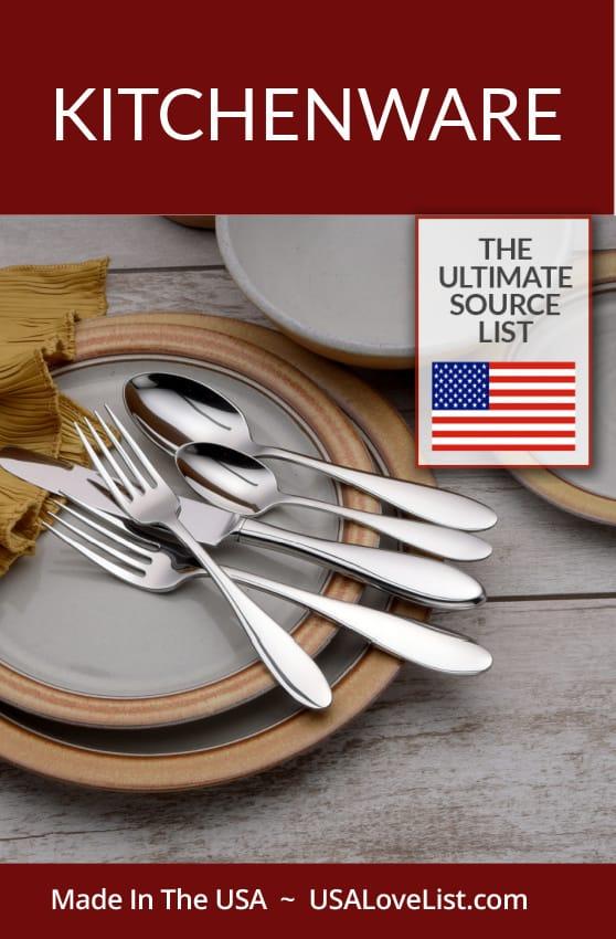 American made kitchenware