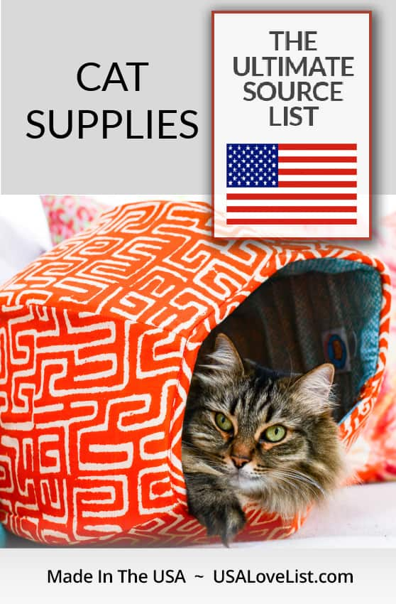 Made in USA Cat Supplies featuring The Cat Ball® cat bed via USA Love List